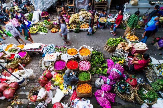 인도네시아 발리|우붓 재래시장