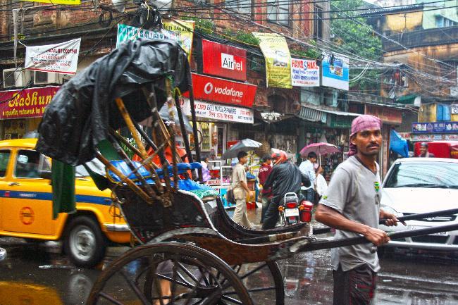 시티 오브 조이, 콜카타에서의 추억