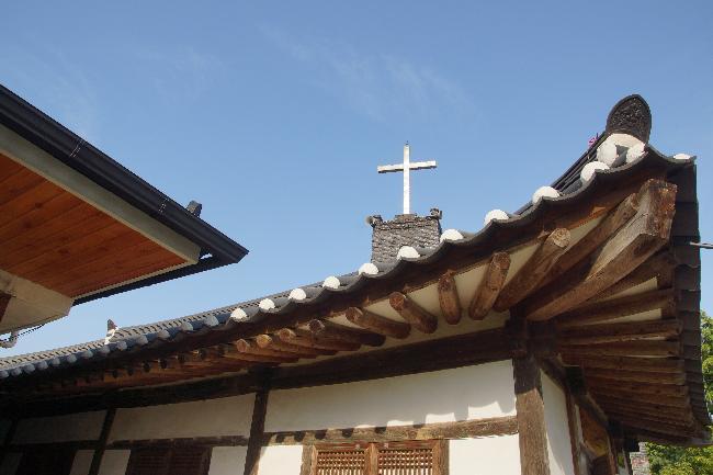 금산교회. 근대 초기 한옥교회의 형태