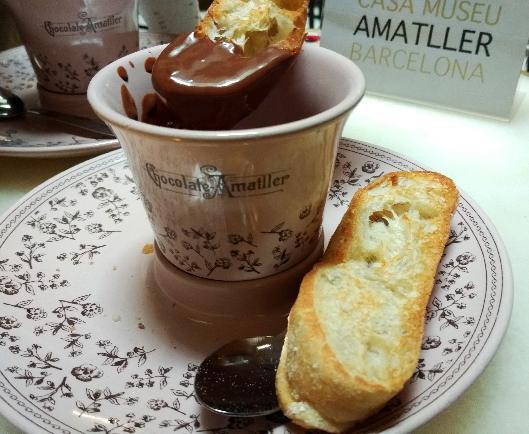 초콜릿 장삿꾼, 아마뜨예르