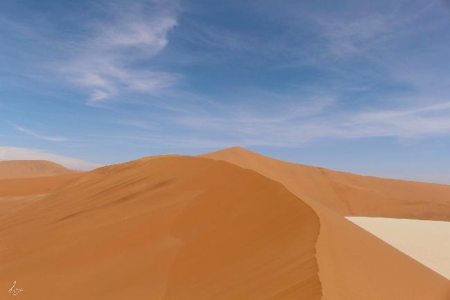 나미브 사막, 하늘과 모래가 맞닿은 곳에서
