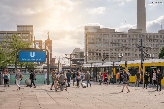 베를린의 번화가