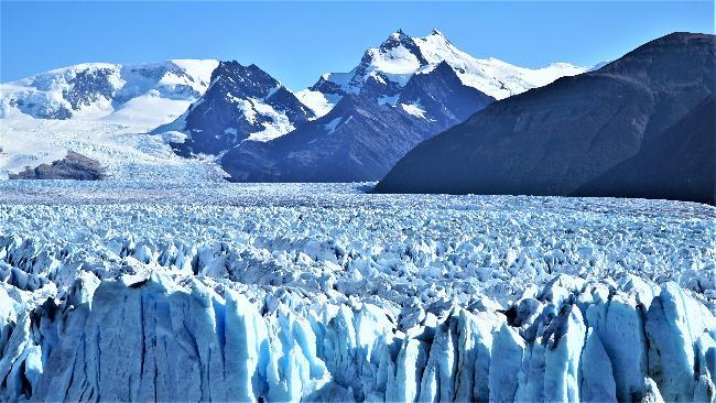 모레노 빙하, 그 스케일과 디테일!