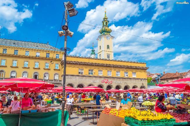 크로아티아|돌라체 시장