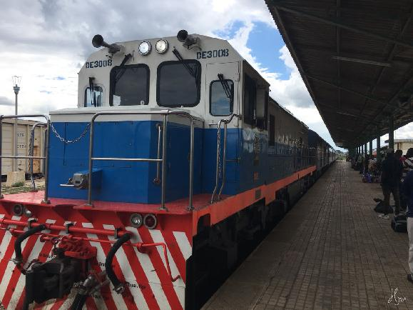 세상에서 가장 느린 기차, 아프리카 타자라 기차 속에서