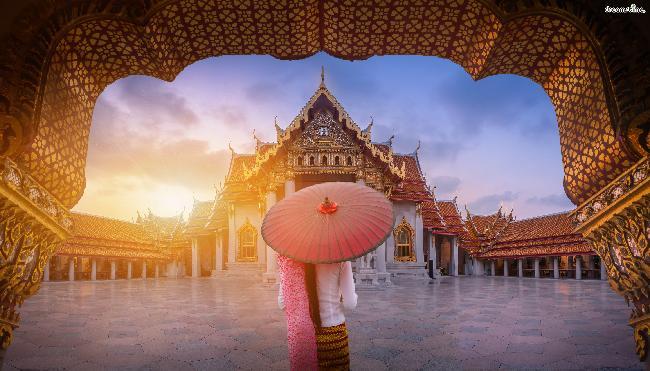 방콕의 관광 명소