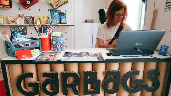 포르투갈의 업사이클링 브랜드 'Garbags'