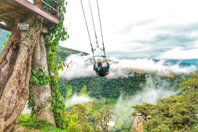 자연과 함께하는 액티비티의 천국 바뇨스 #남미_에콰도르