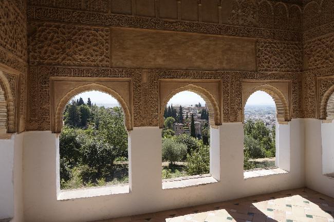 그라나다, 알함브라 궁전의 추억의 장소