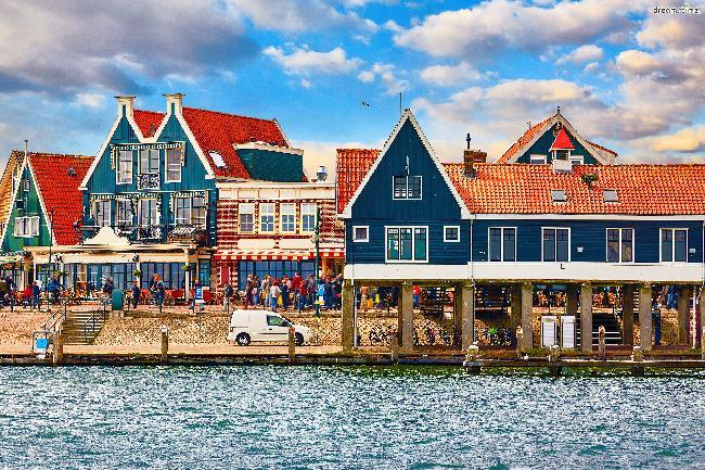 동화 같은 마을, 네덜란드 볼렌담