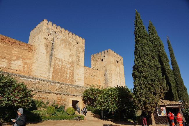 알카사바, 알함브라의 군사요새