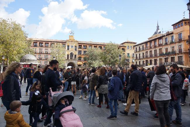 소코도베르 광장, 톨레도 여행자들의 출발지