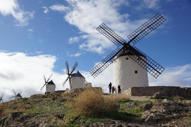 콘수에그라, 돈키호테의 풍차마을