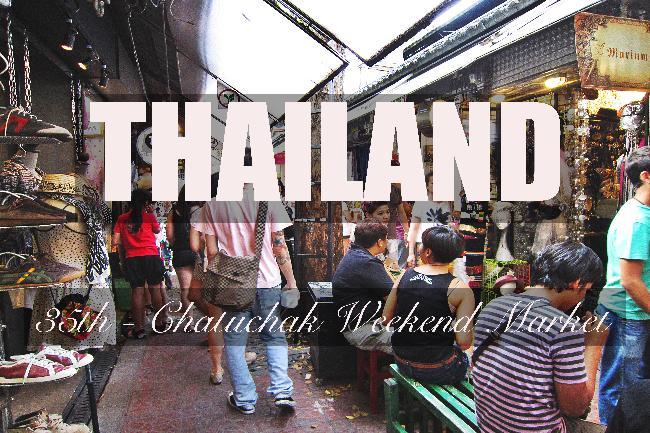 제35화 - 방콕의 상징, 짜투짝 주말시장