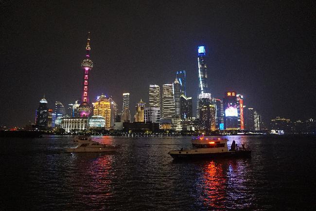 마치 미래 도시와 같던 '상하이'