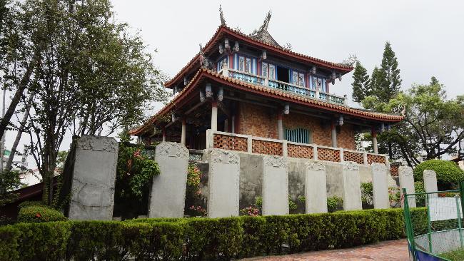 대만 중남부 여행, 타이난 츠칸러우(적감루)