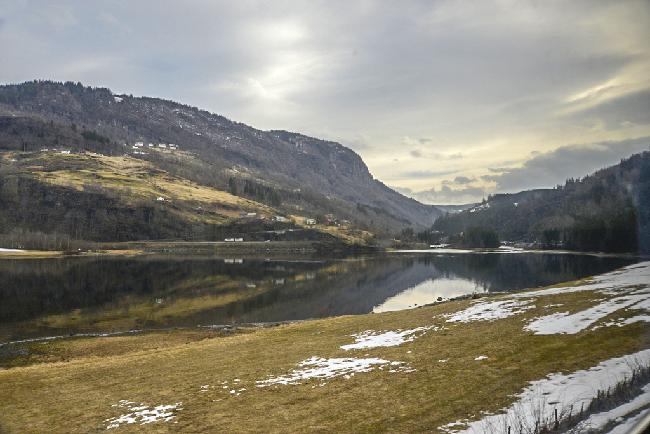 노르웨이의 작은 마을 보스(voss)