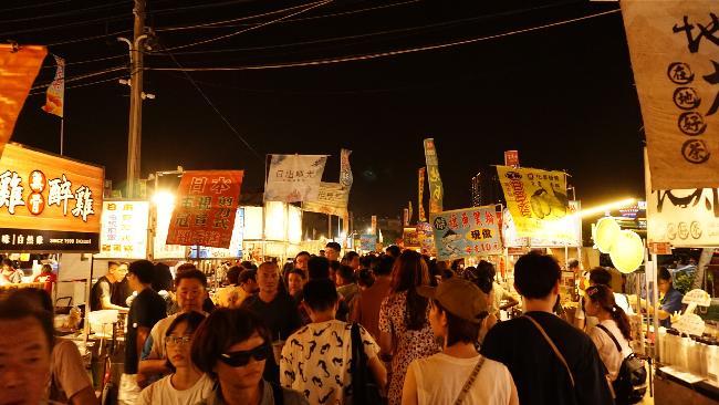 대만 중남부 여행 :: 타이난 야시장(화원&우성야시장)