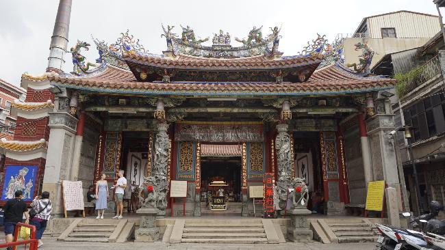 대만 중남부 여행 :: 타이난 대천후궁, BB ART