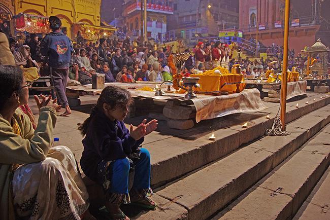 바라나시에서 만나는 힌두교 행사