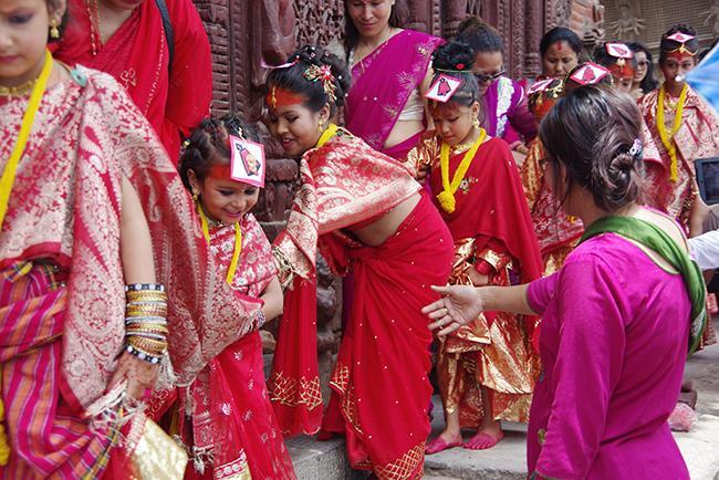 네팔의 문화를 만날 수 있는 도시 카트만두