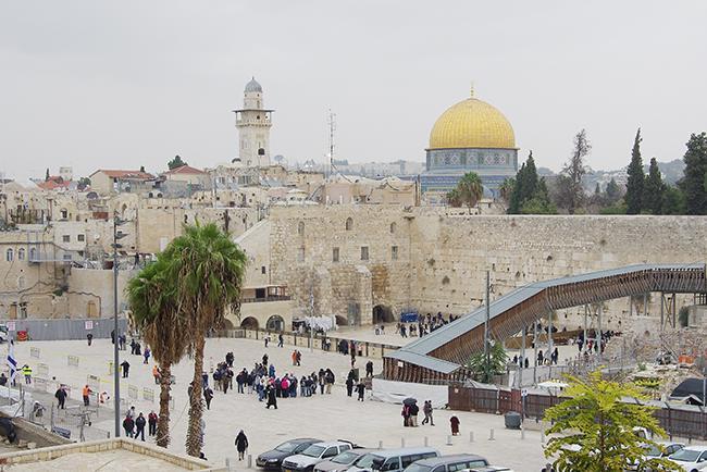 세 종교의 성지인 예루살렘을 만나다
