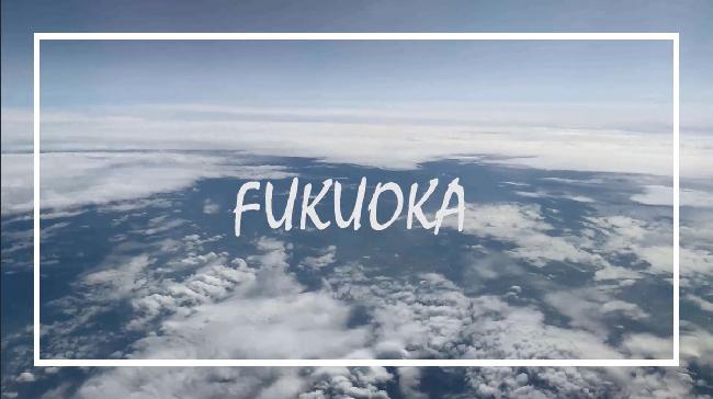 나 혼자 해외여행, 7박 8일간의 후쿠오카 여행기록