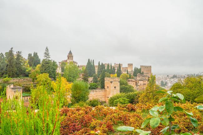 스페인 그라나다 알함브라궁전의추억