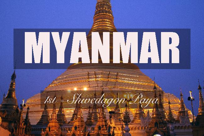 제1화 - 황금으로 가득한 신비의 나라, 미얀마
