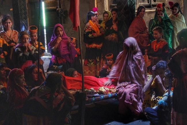 칼라샤 부족의 독특한 장례문화