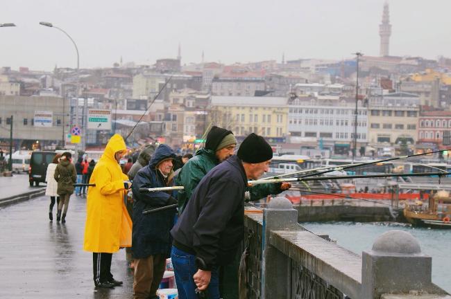유럽과 아시아 그 중간의 어디쯤, 이스탄불