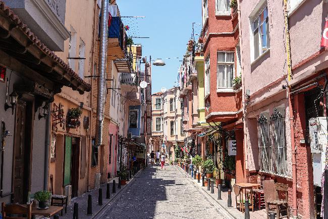 월요일의 이스탄불: 걷고 싶은 거리들