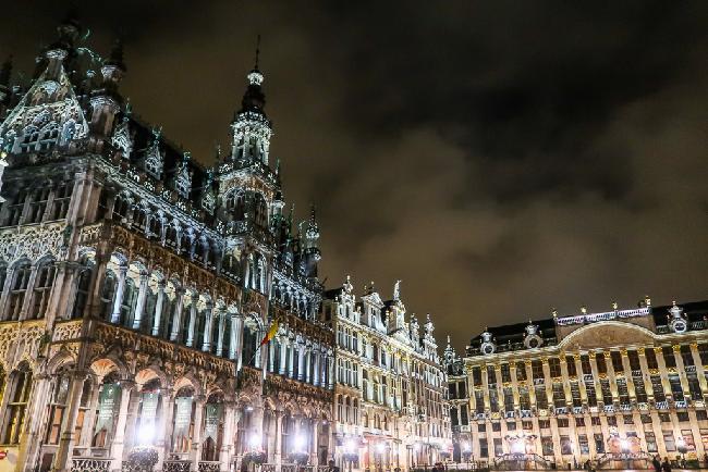 브뤼셀에서 만난 웅장하고 아담한 풍경들