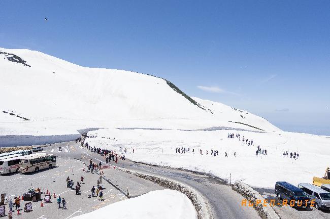 #3. 하얀 설벽의 세상, 알펜루트를 가다