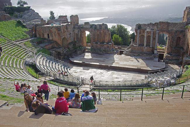 그리스인의 풍류를 만나다 타오르미나
