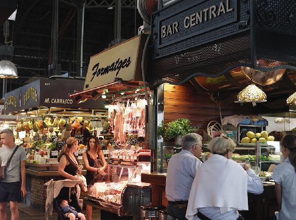 바르셀로나 골목 산책 - 라 보케리아(보께리아 시장)