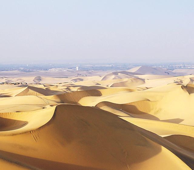 와카치나 사막을 마주하다 - 모바일이미지