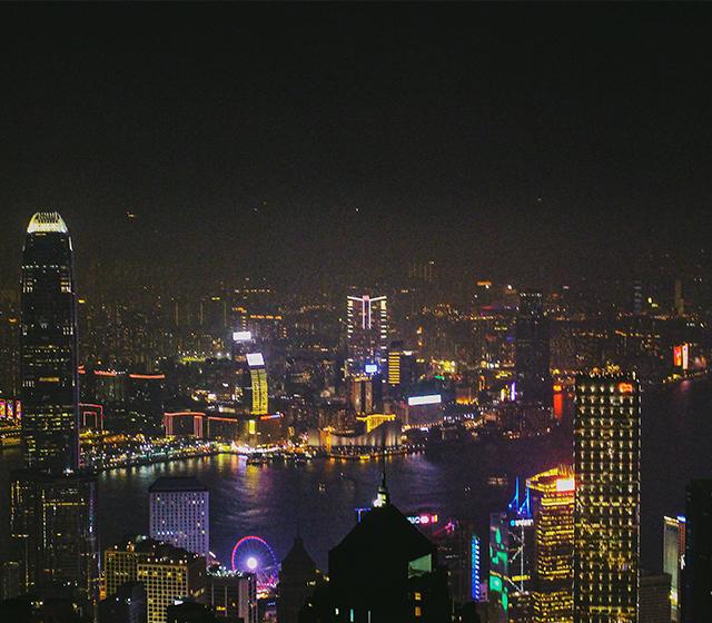 홍콩의 밤은 잠들지 않는다 - 모바일이미지