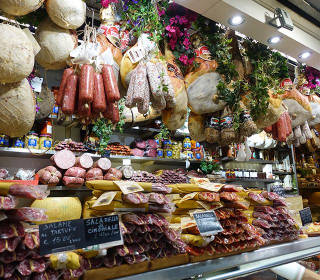 식재료의 천국, 피렌체 중앙시장 - 모바일이미지