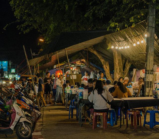 태국 깟쑤언깨우 야시장 투어 - 모바일이미지