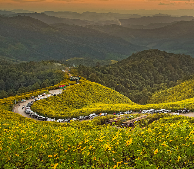 태국에서 가장 오지인 곳, 매홍손으로 - 모바일이미지