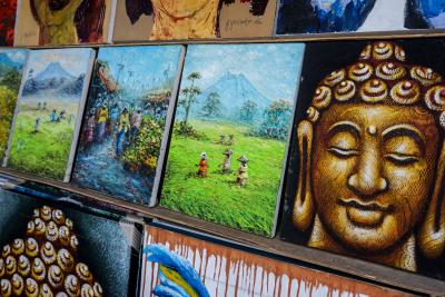 발리의 명실상부 예술촌 우붓을 대표하는 시장인 만큼  '우붓 예술 시장(Ubud Art Market)'이라고도 불린다.