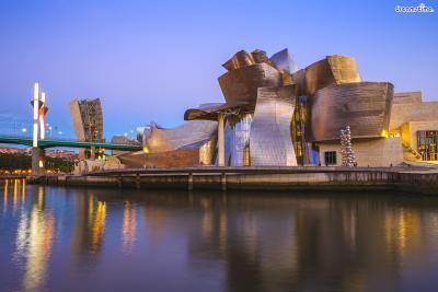 [7] 스페인 빌바오 구겐하임 미술관(Museo Guggenheim Bilbao, Spain)  프랭크 게리에게 '거장'이라는 타이틀을 붙여준 기념비적인 건축물입니다.  제프 쿤스, 루이즈 부르주아 등 세계적인 예술가들의 작품을 소장한 현대미술관으로,  건축물 하나로 쇠락의 길을 걷던 공업도시 빌바오를 문화관광 도시로 탈바꿈시켜  '빌바오 효과'라는 말까지 생겼습니다. 설립 이래 천만 명이 넘는 사람들이 다녀갔다고 하네요.