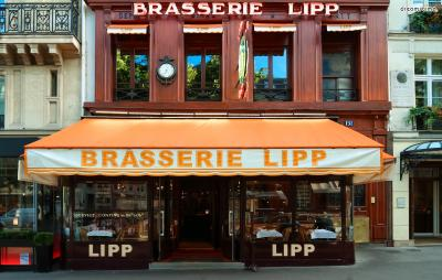 ▲브라스리 리프(Brasserie Lipp)  생 제르맹 거리에 위치한 브라스리 리프는 샤갈의 단골집으로 알려진 레스토랑입니다.  샤갈 외에도 피카소, 프루스트, 헤밍웨이, 사르코지 대통령 등이 이곳의 단골이었다고 하는데요.  샤갈은 모딜리아니 등의 동료 화가들과 함께 이곳에서 예술 강연을 진행하곤 했습니다.