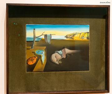 ▲달리의 대표작 《기억의 지속》(1931), 뉴욕현대미술관 소장.