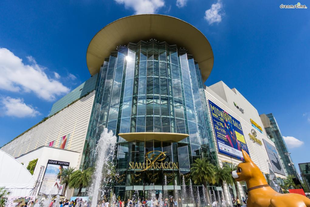 ▲방콕을 대표하는 대형 명품 쇼핑몰,  시암 파라곤(Siam Paragon)