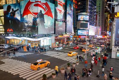 세계에서 가장 흥미진진한 도시 1위로 꼽힌 뉴욕.  뉴욕의 번화가는 어떤 곳들이 있을까?