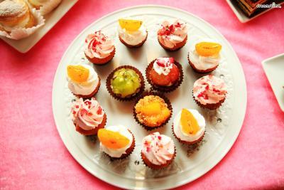 ▲한 입에 쏙 들어오는 컵케이크 역시 뉴욕을 대표하는 디저트 중 하나다.  뉴욕에서는 다양한 색깔과 재료, 디자인의 컵케이크를 만나볼 수 있다.