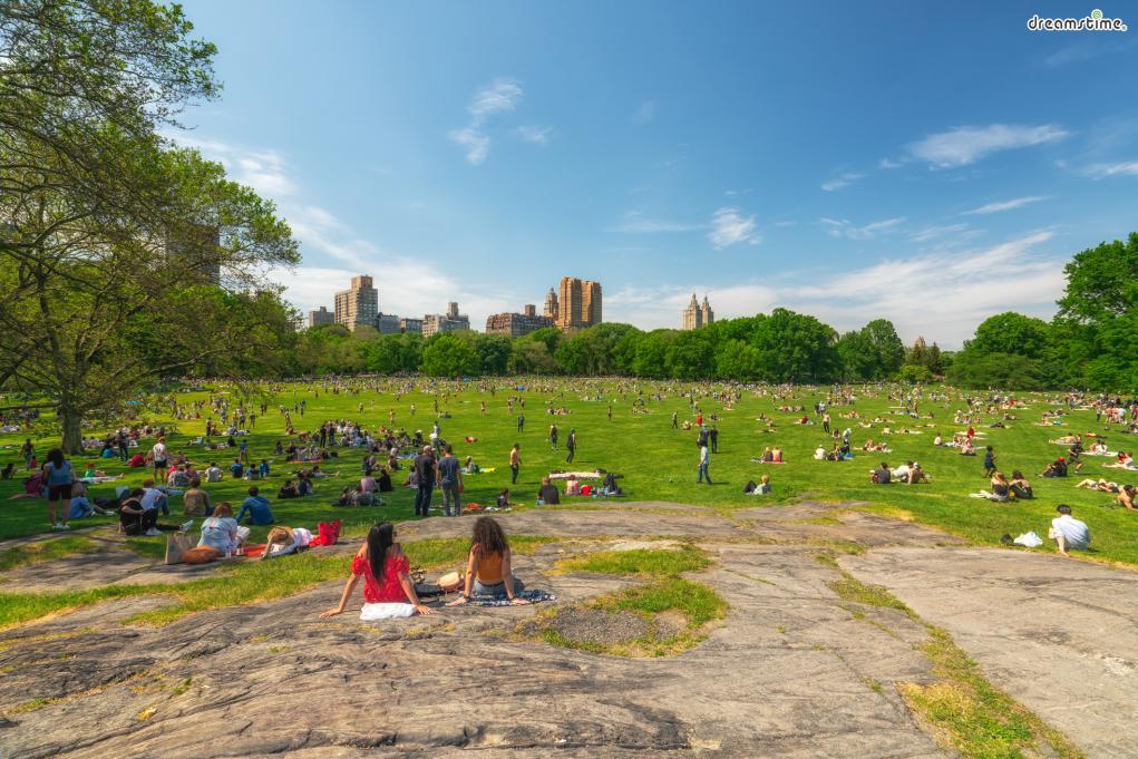 [6] 도심 속 공원 즐기기  뉴요커처럼 뉴욕을 즐기는 중요한 방법 중 하나는  뉴욕 곳곳에 자리한 도심 공원들을 가보는 것이다.  너르고 푸른 잔디밭, 호수, 동물원, 예술 작품 등  공원 곳곳에 즐길 거리가 가득하다.