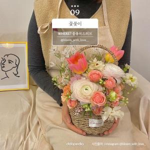 ⑨ 꽃꽃이   블룸위드러브   @bloom_with_love__  사진 출처 인스타그램 @bloom_with_love__